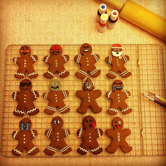 Emoji Gingerbread Cookies Exist!